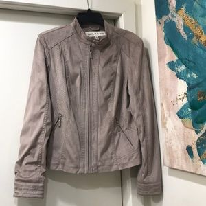 Sebby Collection Suede Jacket